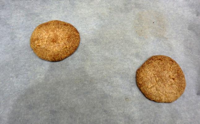 焦げたクッキー