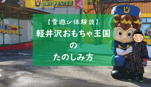 軽井沢おもちゃ王国の楽しみ方【雪遊び編】