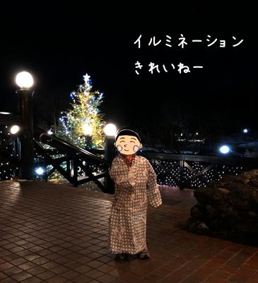 ホテルグリーンプラザ軽井沢のイルミネーション
