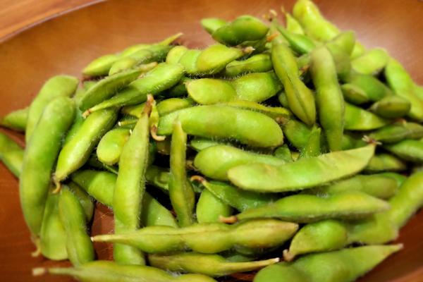 ゆでたての枝豆